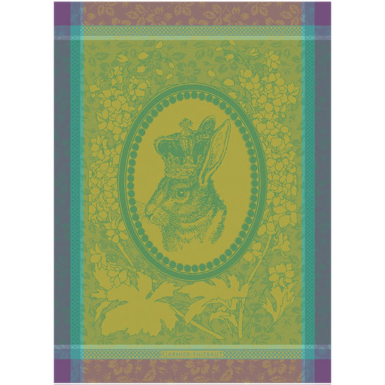 Monsieur Lapin Vert Kitchen Towel
