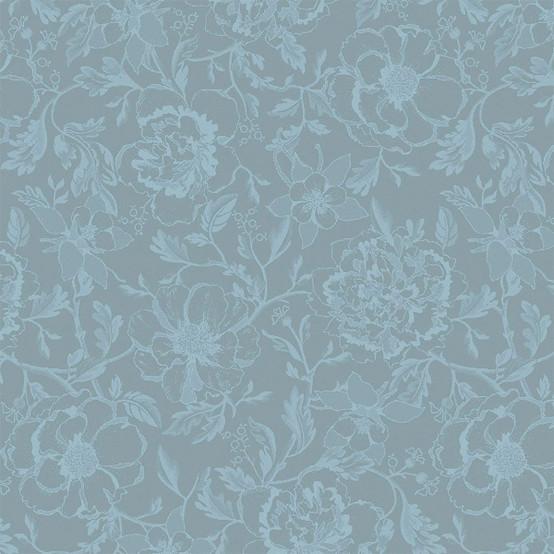 Mille Charmes Napkin in Bleu Louis XVI