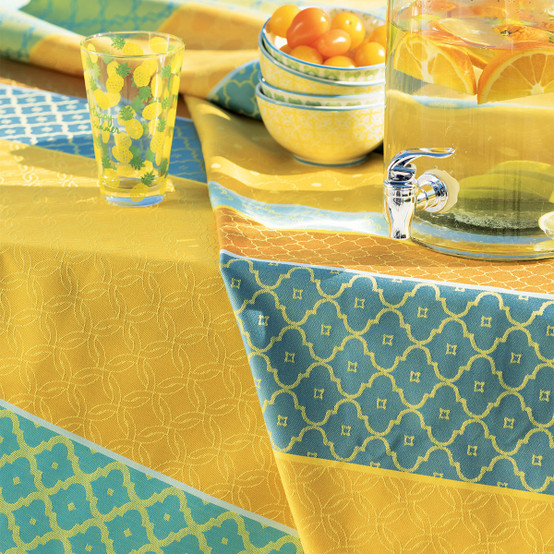 Mille Claustras Coated Fabric in Corsica (Price/Inch)