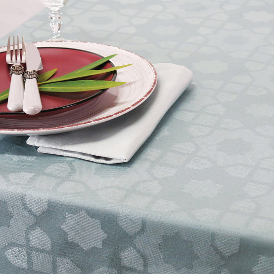 Mille Gibraltar Coated Fabric in Brume (Price/Inch)