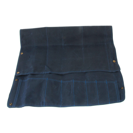 7 Pocket Knife Roll in Navy