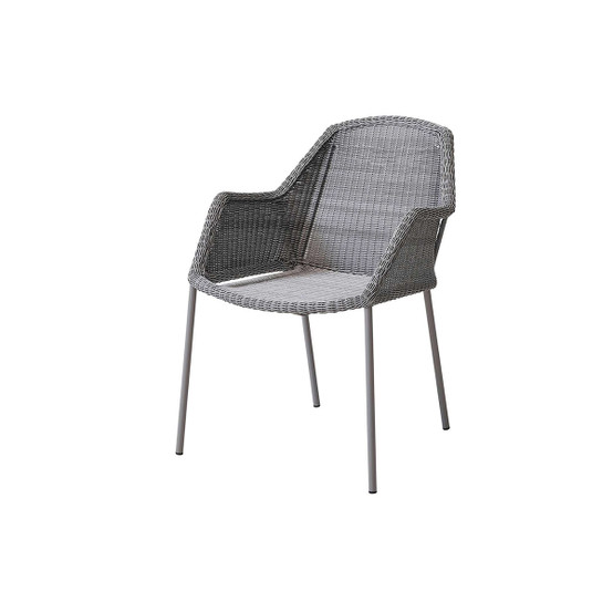 Breeze Dining Chair in Light Grey