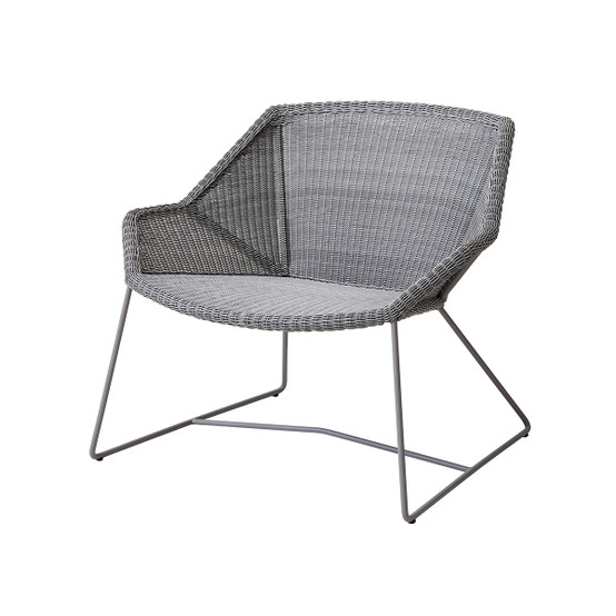 Breeze Lounge Chair in Light Grey
