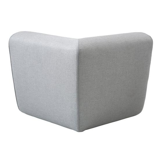 Foam Corner Module in Light Grey