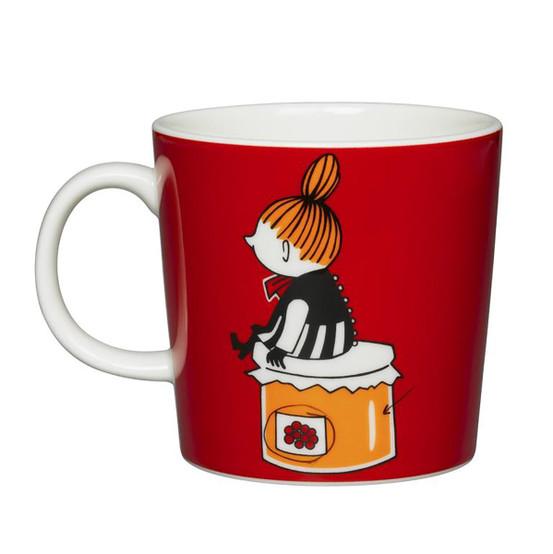 Little My Moomin Mug in Red