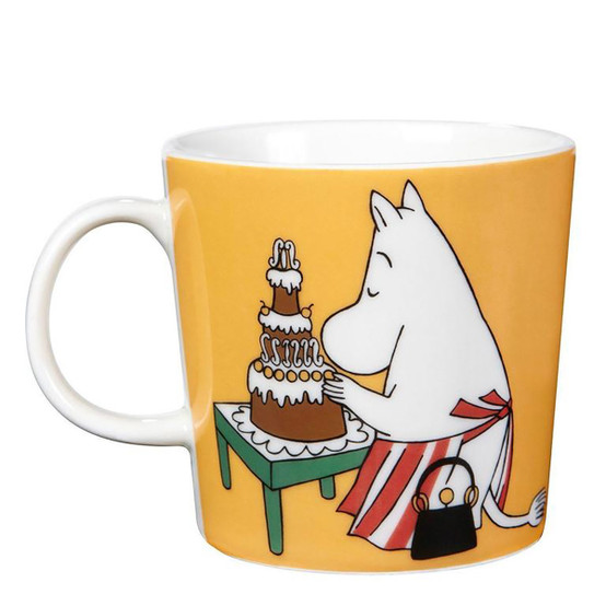 Moominmamma Moomin Mug in Apricot