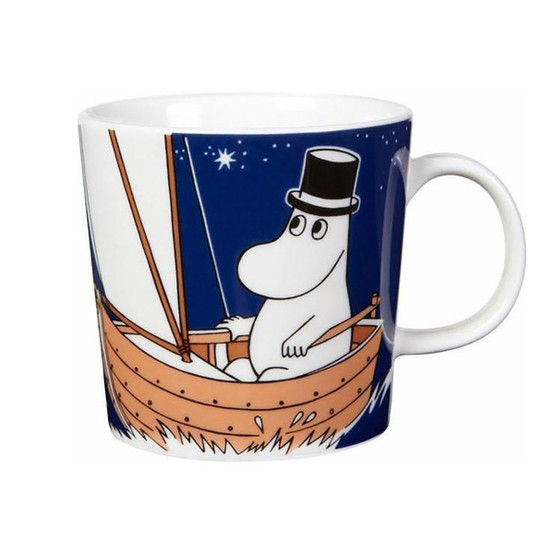 Moominmamma Moomin Mug in Deep Blue