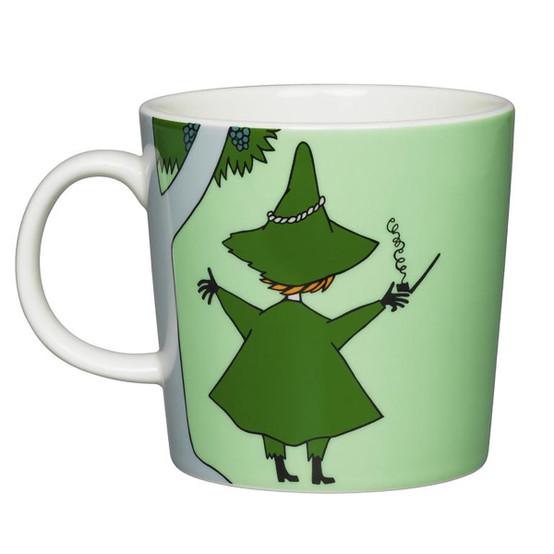 Snufkin Moomin Mug in Green