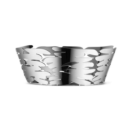 Small Barket Basket in Silver