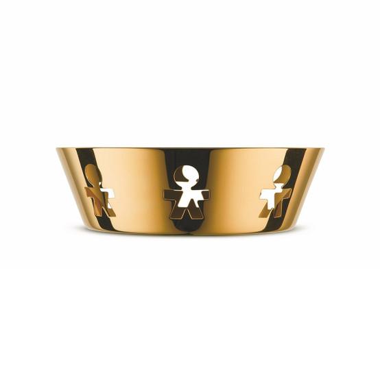 "7"" Girotondo Basket in Gold"