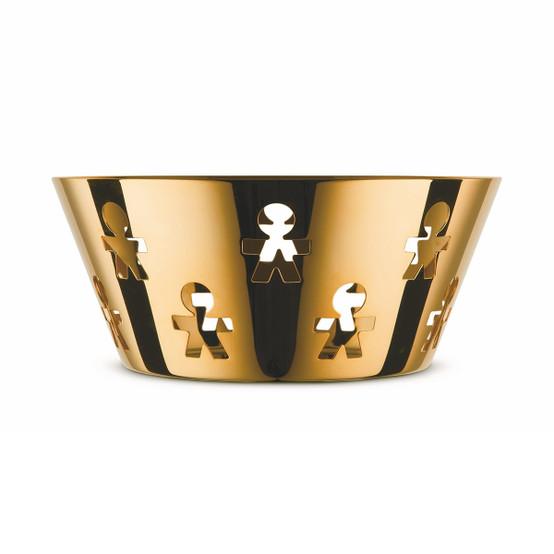 Girotondo Large Basket in 24K Gold
