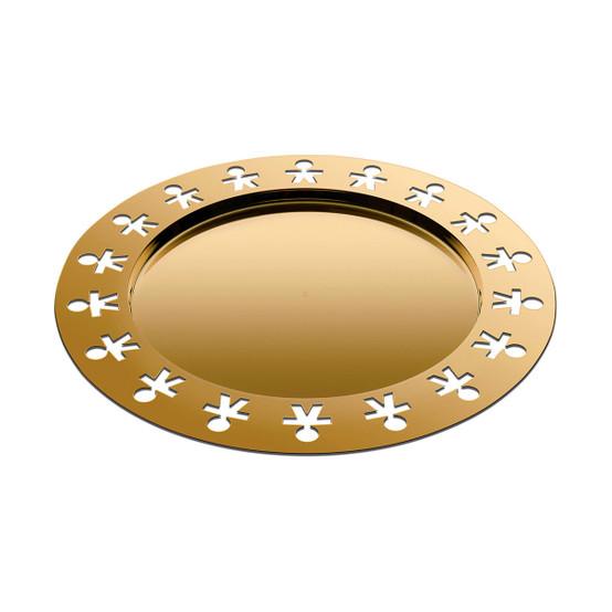 Girotondo Tray in Gold