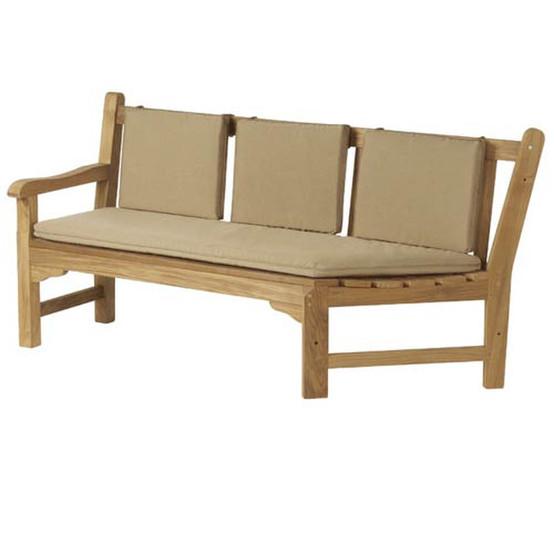 Glenham Teak Corner Seat Left Arm 6 ft
