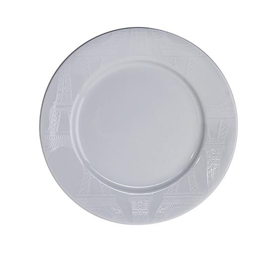 Ville De Paris Paris Plate in White 8.5 inches