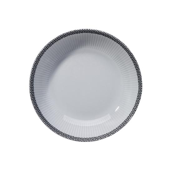 Ville De Paris Plisse Soup Plate