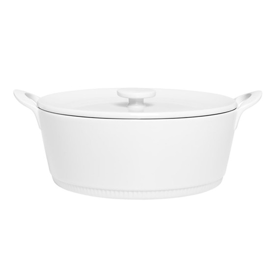 Toulouse Flame-Proof Casserole With Lid
