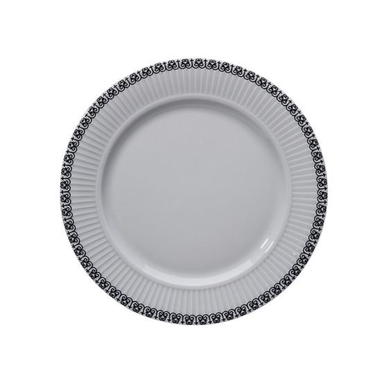 Ville De Paris 8.5 inch Plisse Plate