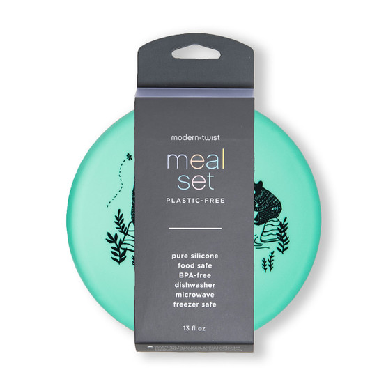 Meal Set Bear Family in Green