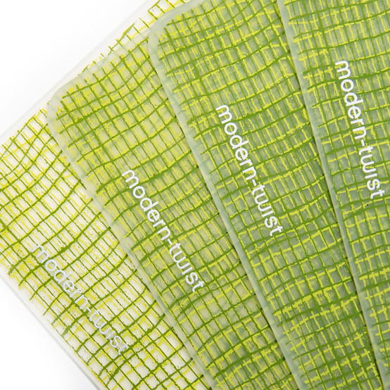 Placemat in Green Apple Linen