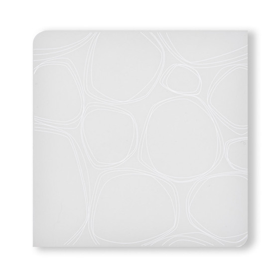 Coasters in White Pebbles