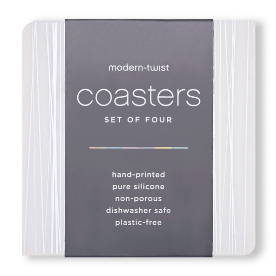 Coasters in Silver Stream