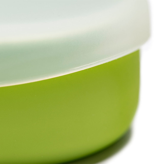 Snack Set in Bright Green