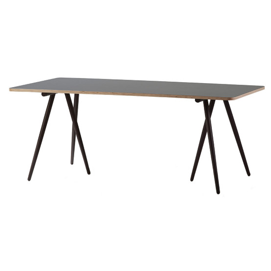 Turn 70 Inch Dining Table in Brown
