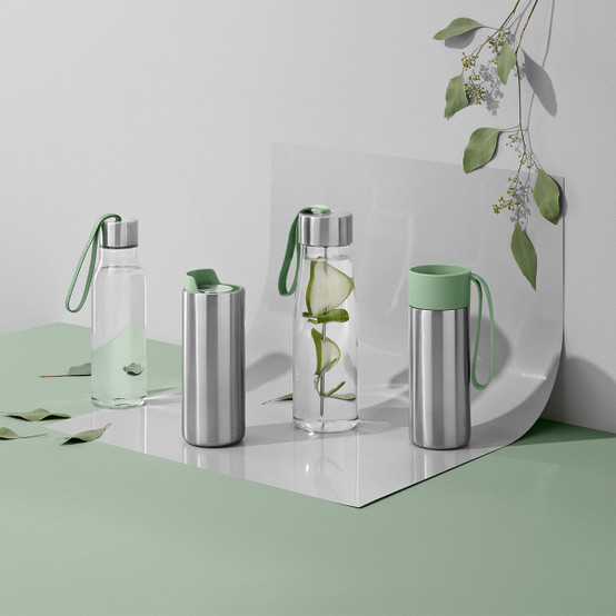 0.5L Drinking Bottle in Eucalyptus Green