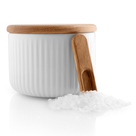 Legio Nova Salt Cellar with Lid and Spoon