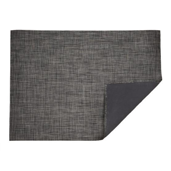 Basketweave Floor Mat in Carbon