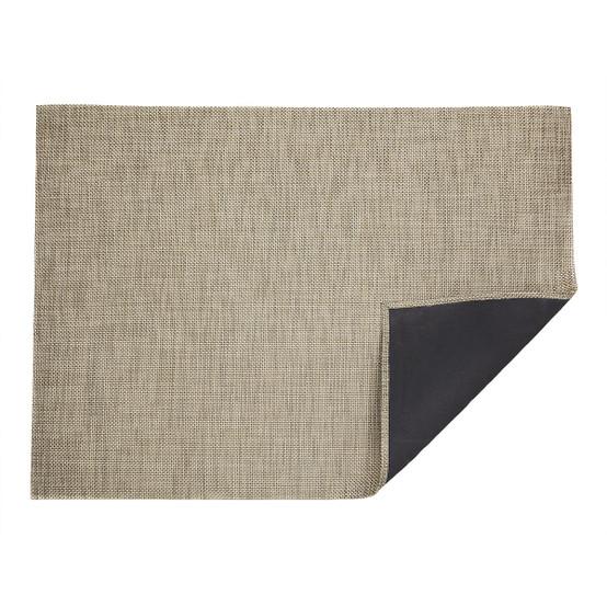 Basketweave Floor Mat in Latte