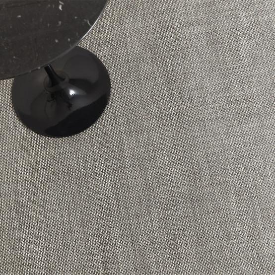 Basketweave Floor Mat in Oyster