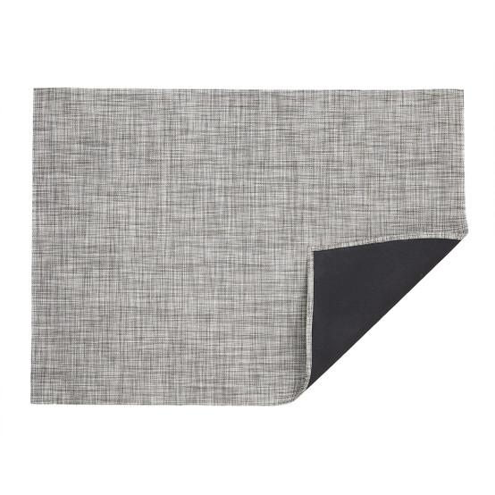 Mini Basketweave Floor Mat in Gravel