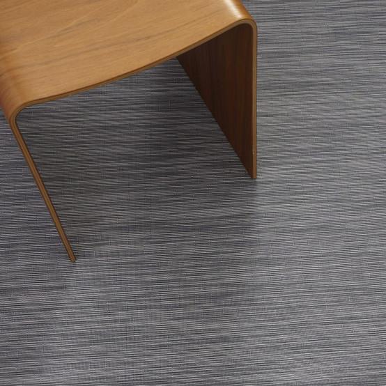 Reed Floor Mat in Steel