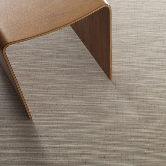 Chilewich Reed Floor Mat In Bisque