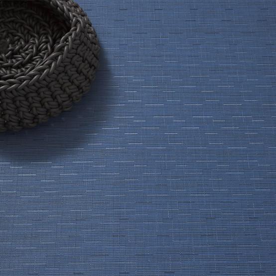 Bamboo Floor Mat in Lapis