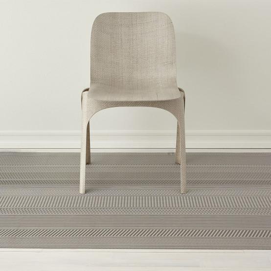 Mixed Weave Floor Mat in Topaz