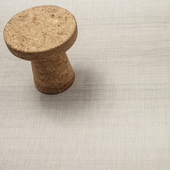 Wave Floor Mat in Grey