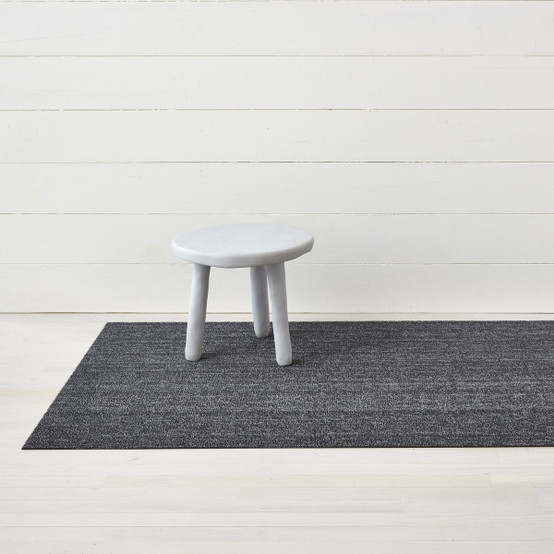 Heathered Shag Mat in Grey