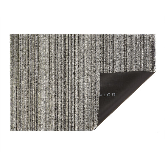 Skinny Stripe Shag Mat in Birch