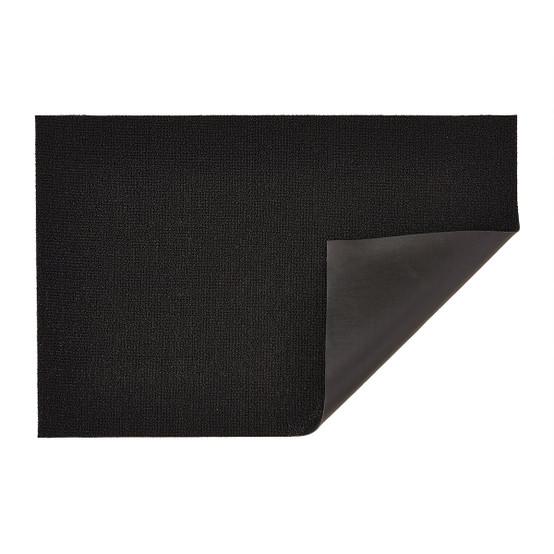 Solid Shag Mat in Black