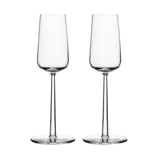Essence Champagne Glasses, Set of 2