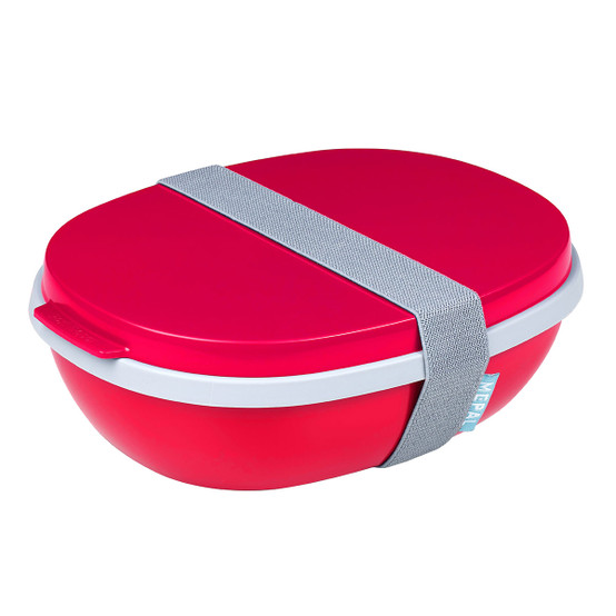 Ellipse Duo Lunch Box in Nordic Red