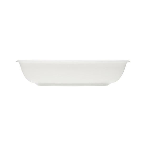 Raami 1.75 Quart Oval Serving Bowl in White