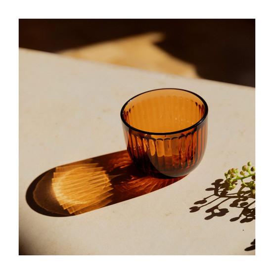 Raami Tealight Candleholder in Seville Orange