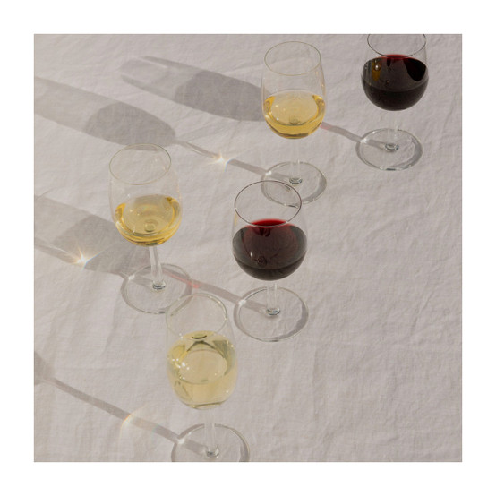 Raami White Wine Glasses, Set of 2