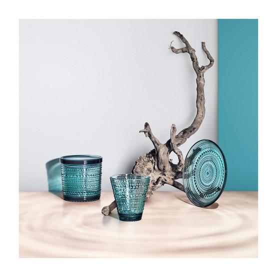 Kastehelmi Large Jar in Sea Blue
