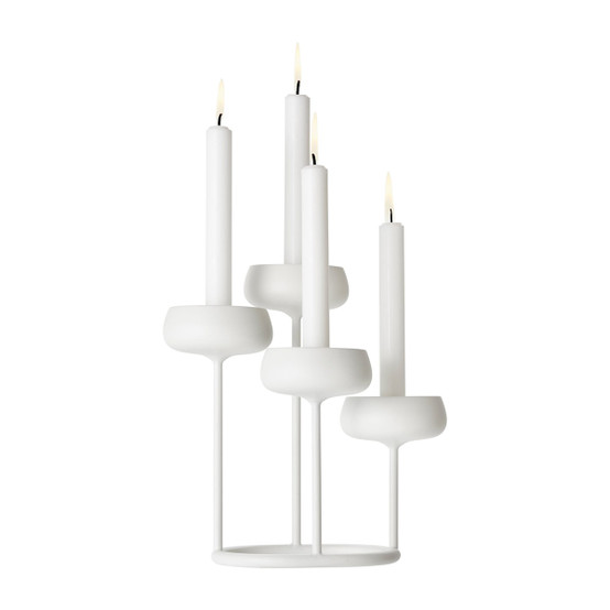 Nappula 10.25 inch Candleabra in White