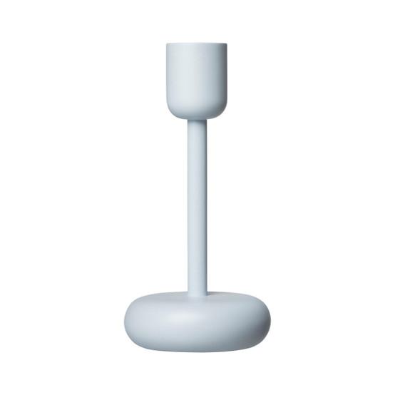 Nappula 7.25 inch Candleholder in Aqua