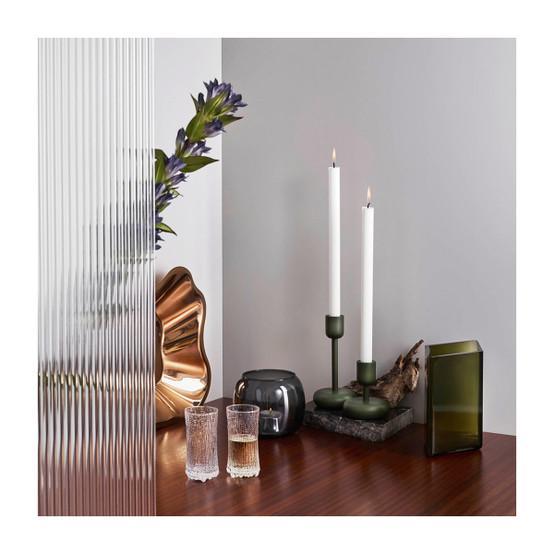 Nappula 7.25 inch Candleholder in Moss Green